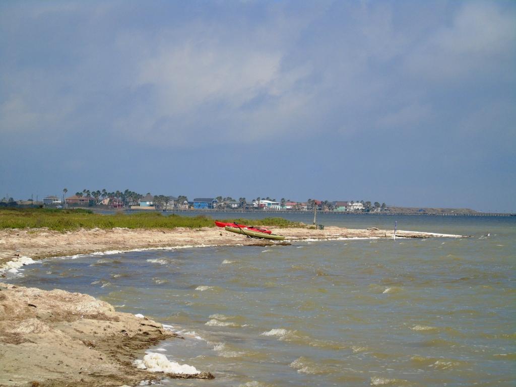 Kayaking Laguna Madre