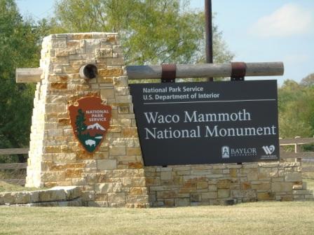 Mammoths in Waco, Texas