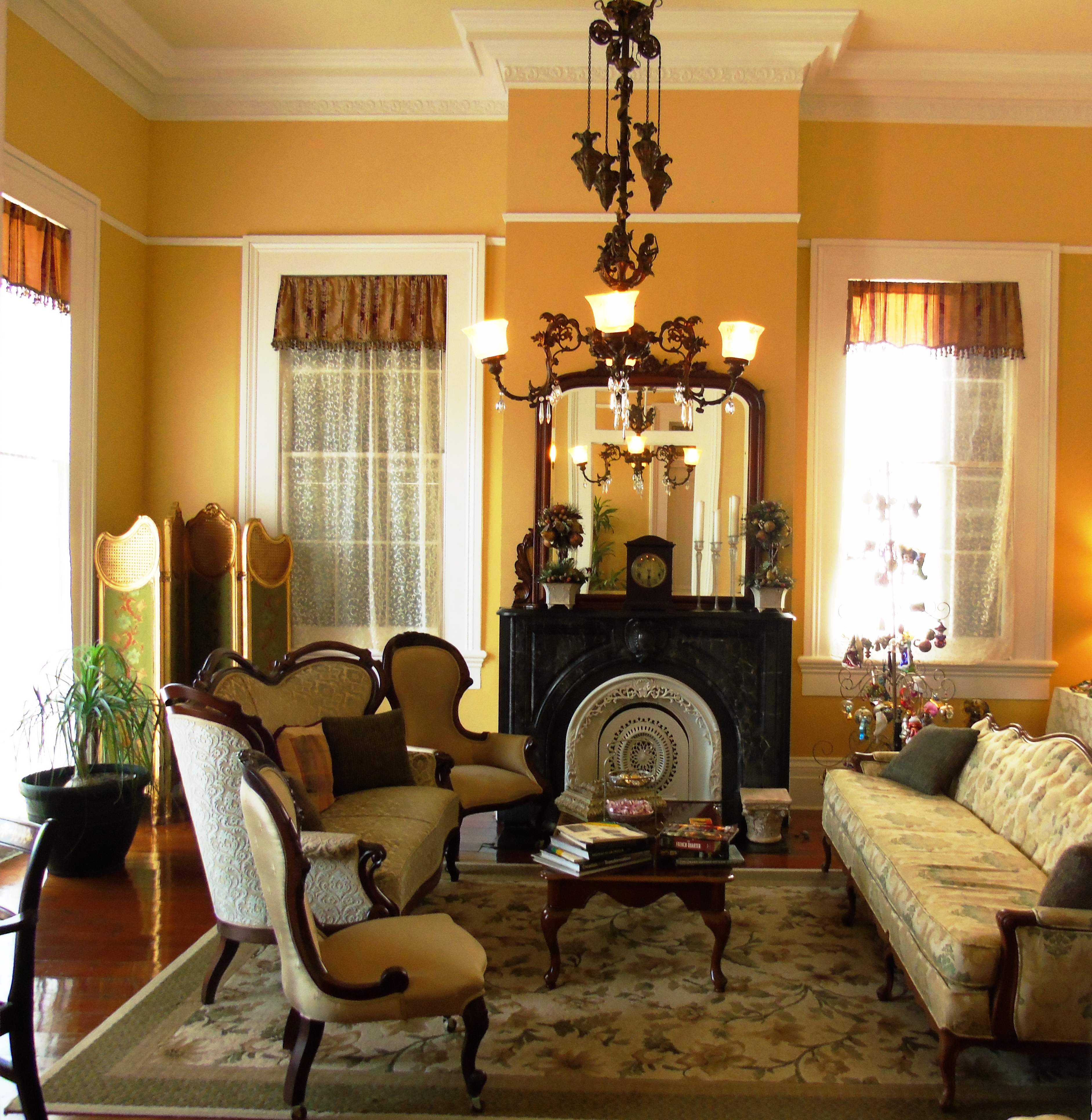 New Orleans, marble, Ashton's B&B, B&B, luxury,