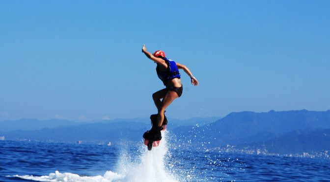 Flyboarding in Puerto Vallarta