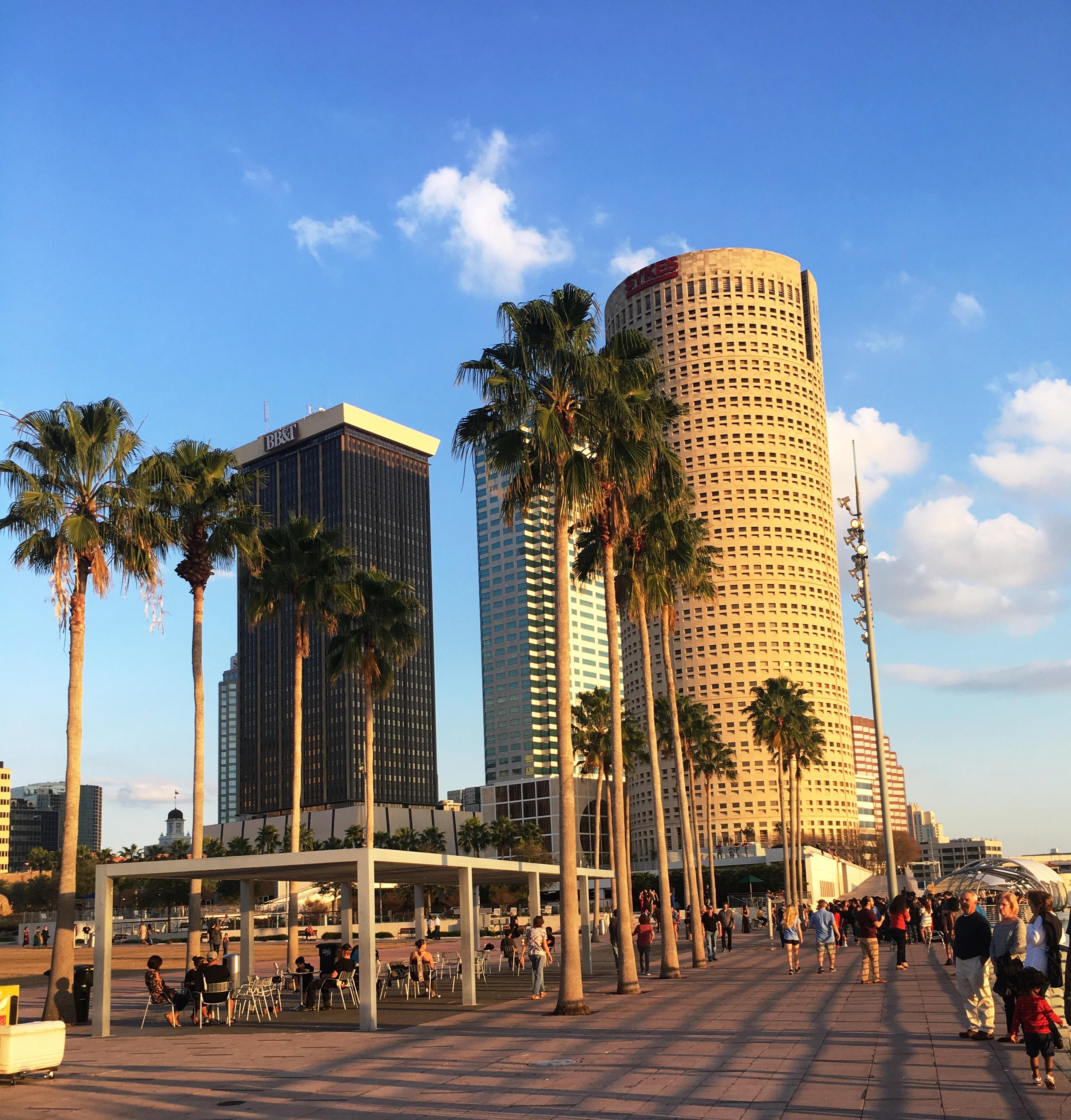 Tampa bay, florida, riverwalk, boardwalk,